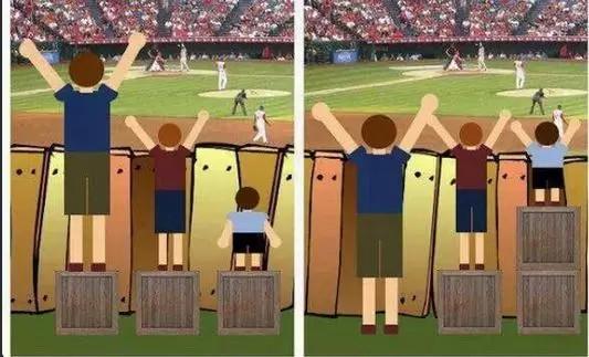 平等 vs. 公平
