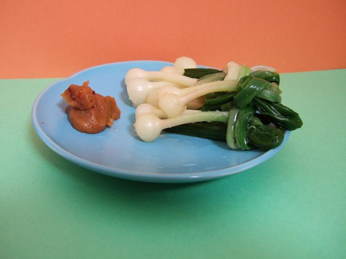 野蒜酢味噌