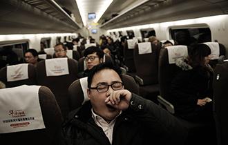 【图话】超级通勤族