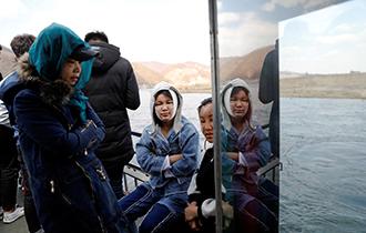 【鹅眼】探访中朝界河鸭绿江 边境游红火