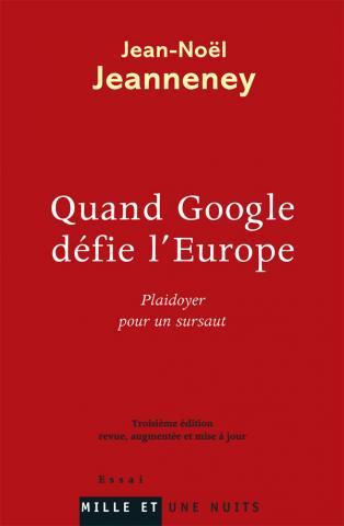 《当谷歌挑战欧洲》封面