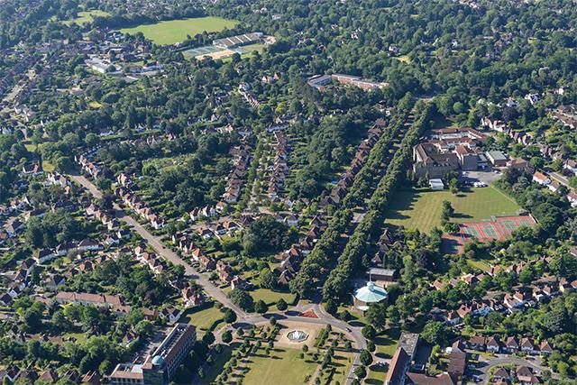 英国第一座花园城市莱奇沃斯