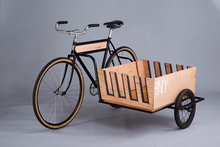 挎斗自行车
