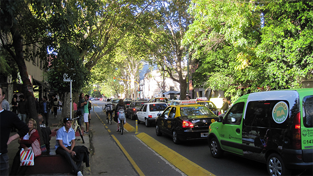 布宜诺斯艾利斯的自行车道