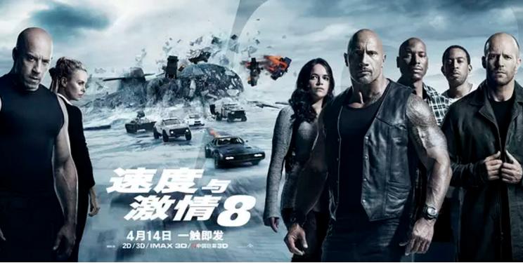 《速度与激情8》海报