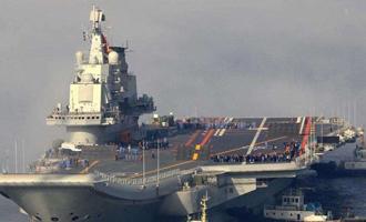 中国能以现役2艘航母的数量,居于美国之后,亦表现了中国政府财政之充裕。