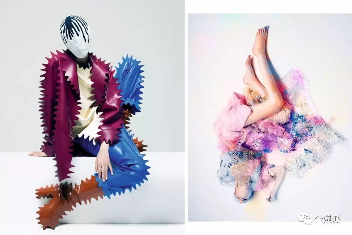 IRIS VAN HERPEN(荷兰著名女装设计师)担纲主编一期
