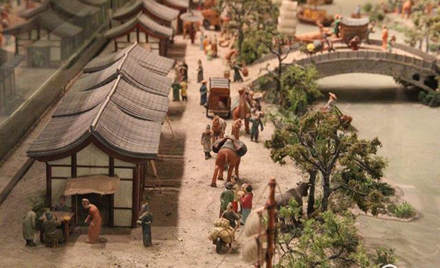 长安西市模型