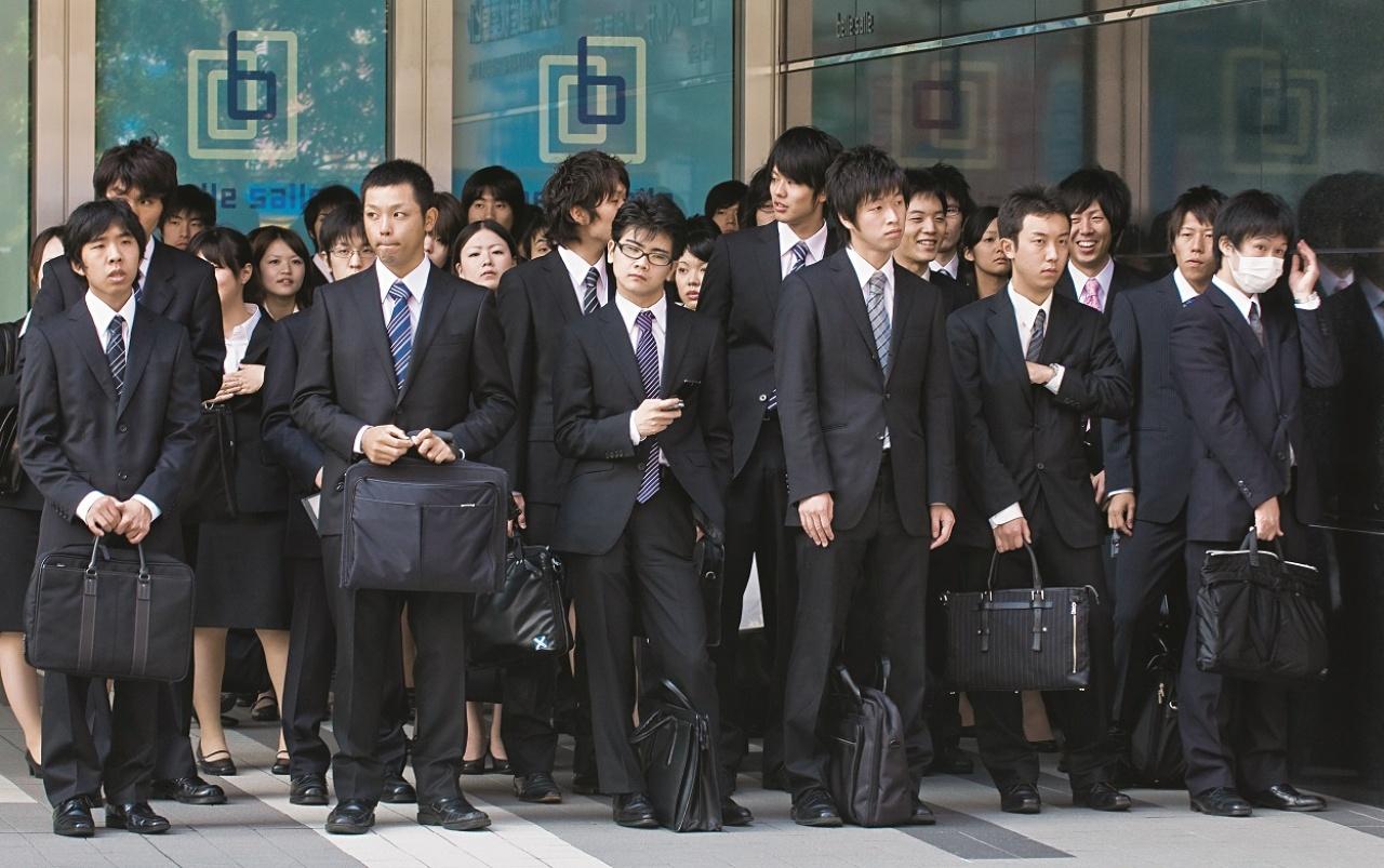 资料图:日本上班族