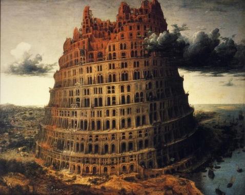 很多民族都有关于巴别塔的传说