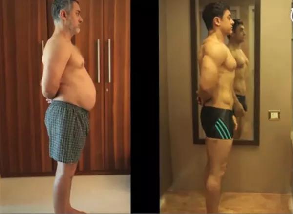 为扮演传奇摔跤手马哈维亚・福盖特,阿米尔・汗先增肥后减肥