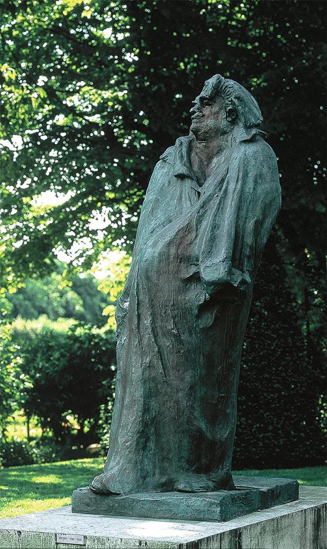 罗丹博物馆的《巴尔扎克》