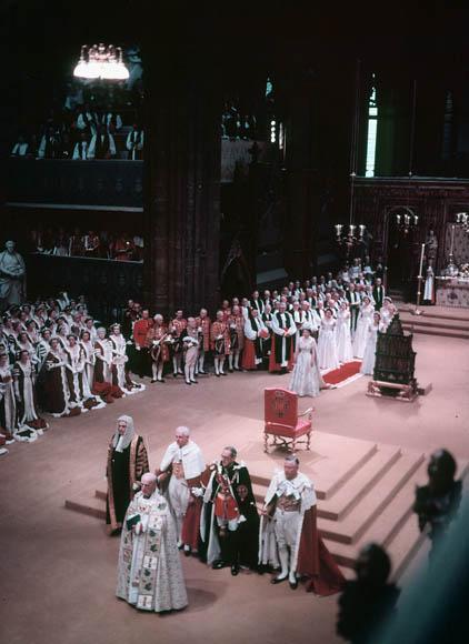 伊丽莎白二世的加冕礼