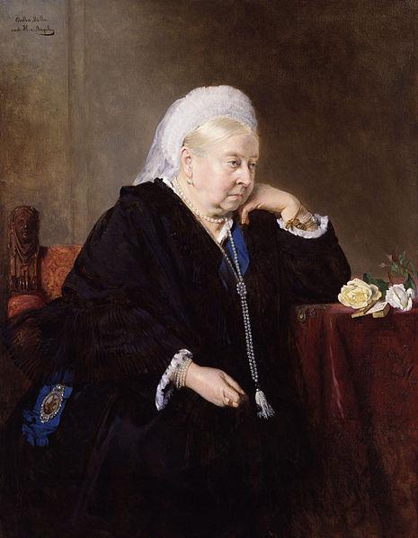80岁的维多利亚女王
