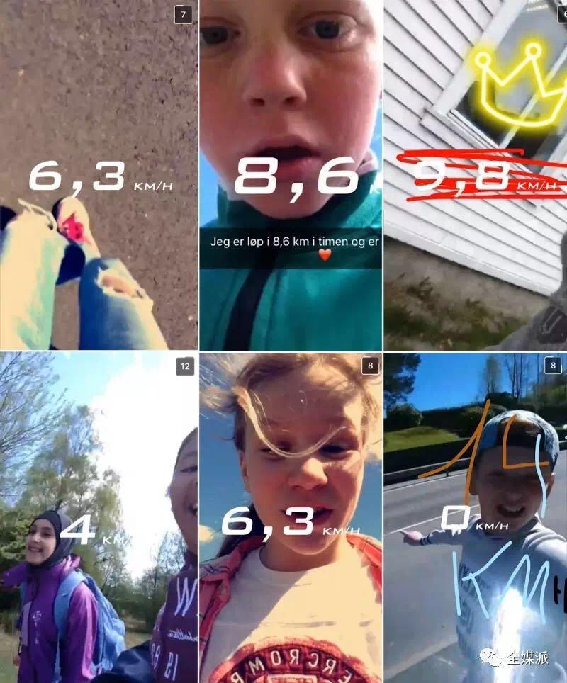 学生把自己跑马拉松的速度记录发到App分享