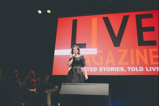 Live Magazine的创始人Florence Martin-Kessler