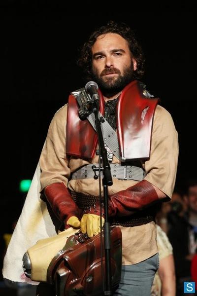 Leonard扮演者,在2013圣迭戈漫展上