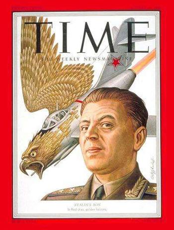 图:1951年,瓦西里登上《时代周刊》封面