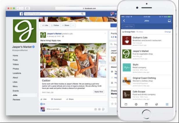 Facebook求职平台