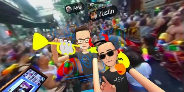 Facebook VR社交