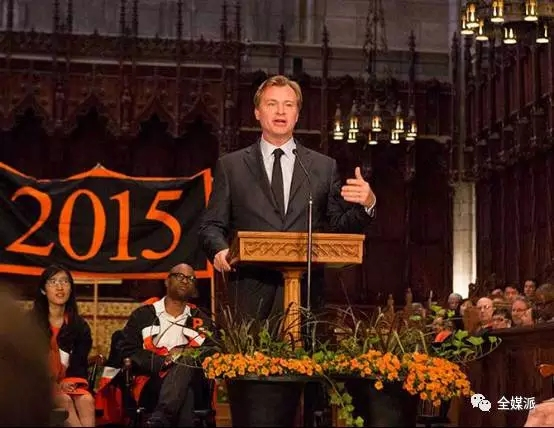 Christopher Nolan在普林斯顿演讲