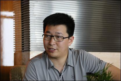ofo创始人兼CEO 戴威(腾讯财经 李微敖摄)