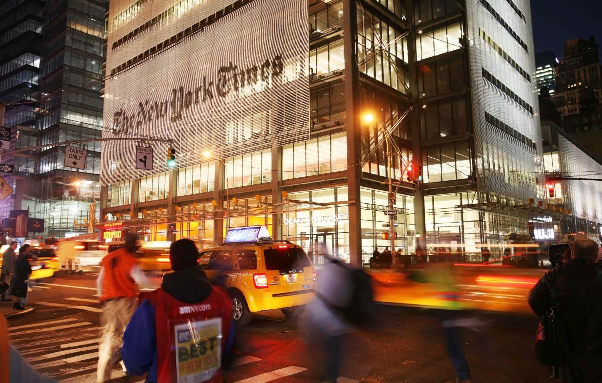 《纽约时报》大楼
