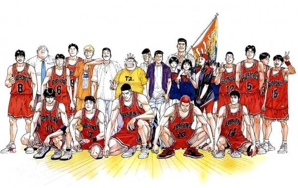 《灌篮高手》这部反映日本中学篮球部生活的动漫,让很多中国学生也喜欢上了篮球