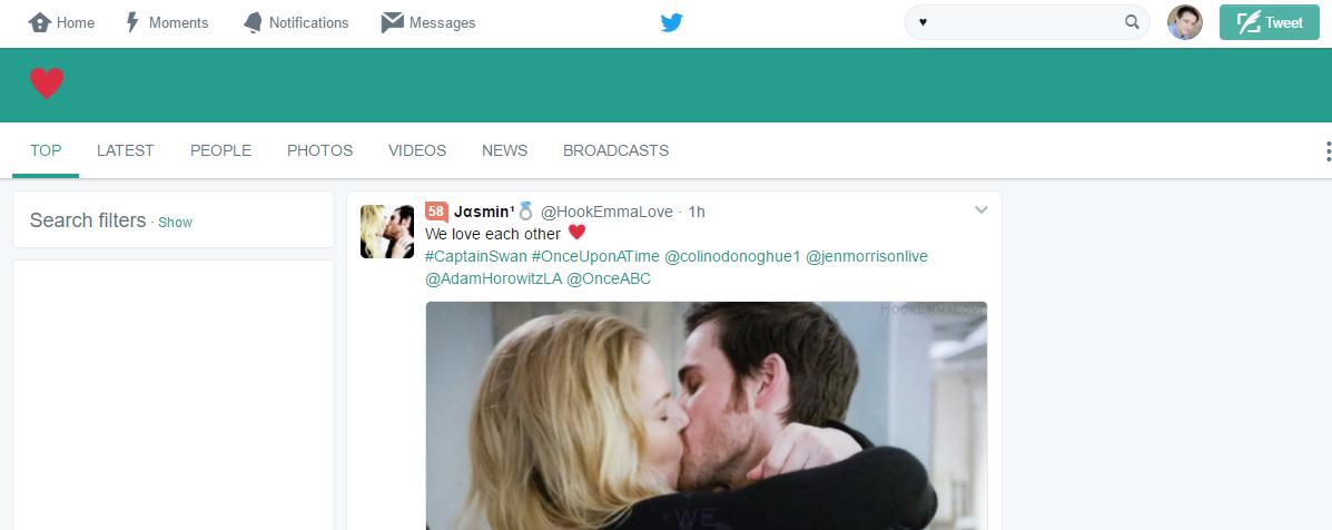Twitter的表情搜索功能