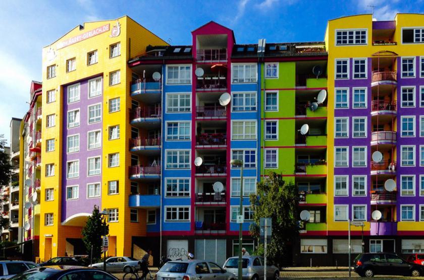 典型的德国公租房