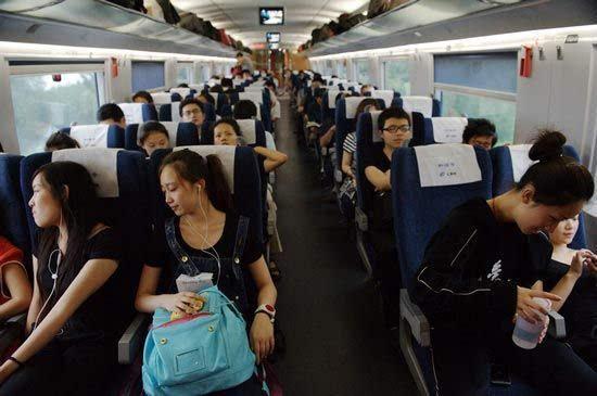 京沪高铁一票难求的现象越来越突出
