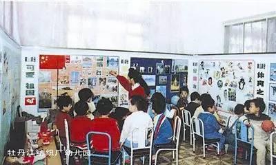 八十年代末的纺织厂幼儿园,《工人日报》资料图