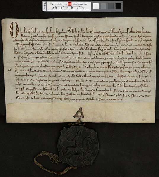 1329年的羊皮纸文书