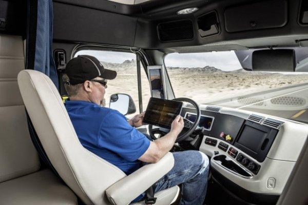 自动驾驶的长途运载交通工具已然出现在美国的高速公路上了