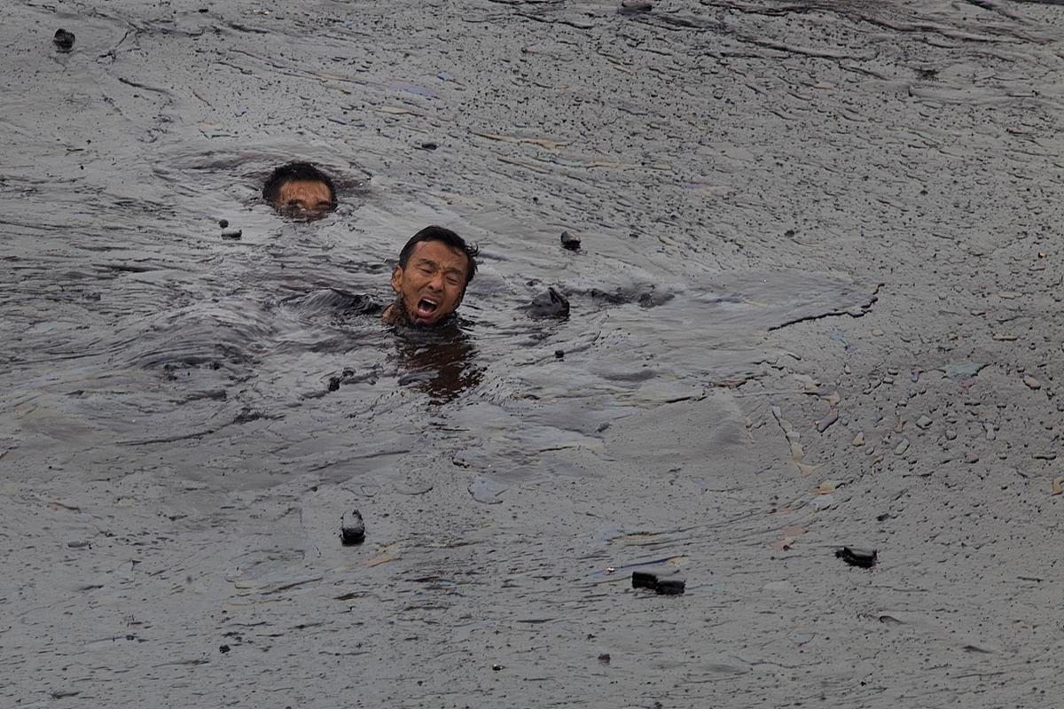 【图话】中国近海油污之灾