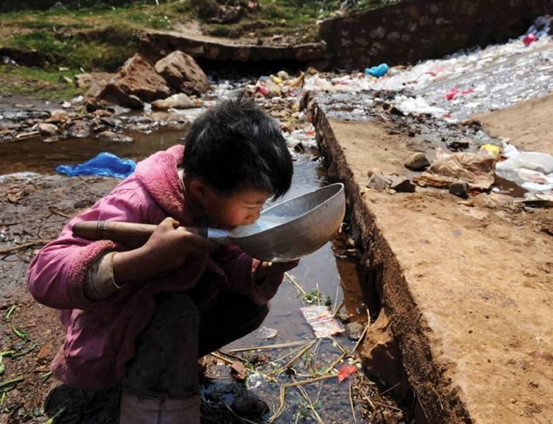 农村暴露在更加严峻的环境危险中