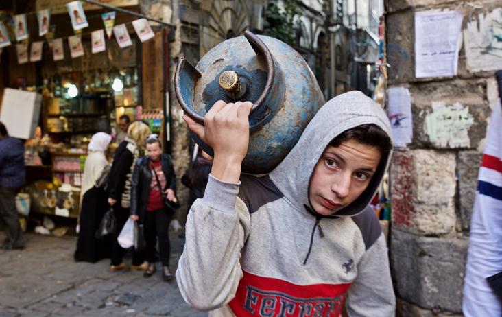 【在线影展】中国女摄影师镜头下的叙利亚