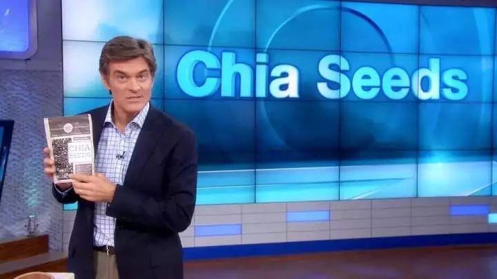脱口秀女王奥普拉在节目中请来Dr. Oz,经他推荐奇亚籽彻底火了