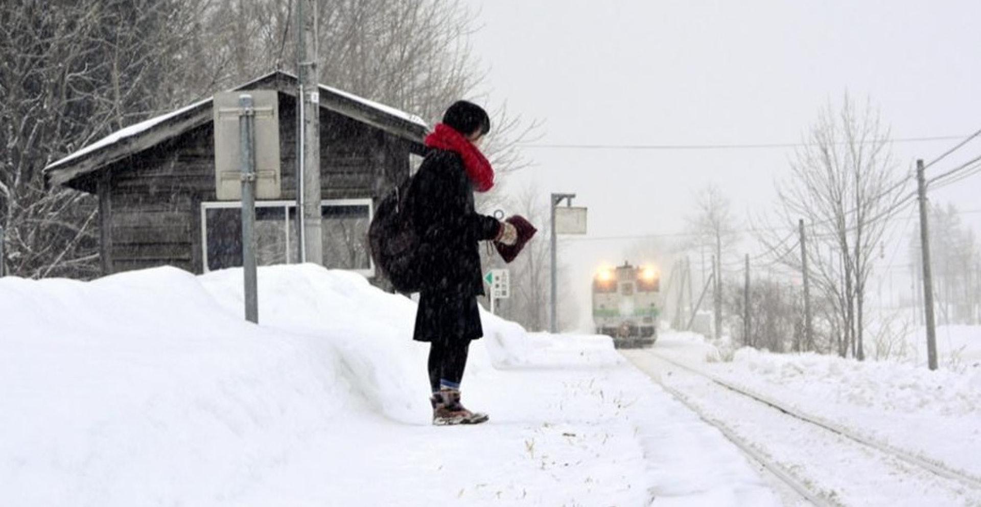 """北海道""""一个人的车站"""",是人口不可逆减少的典型例证"""
