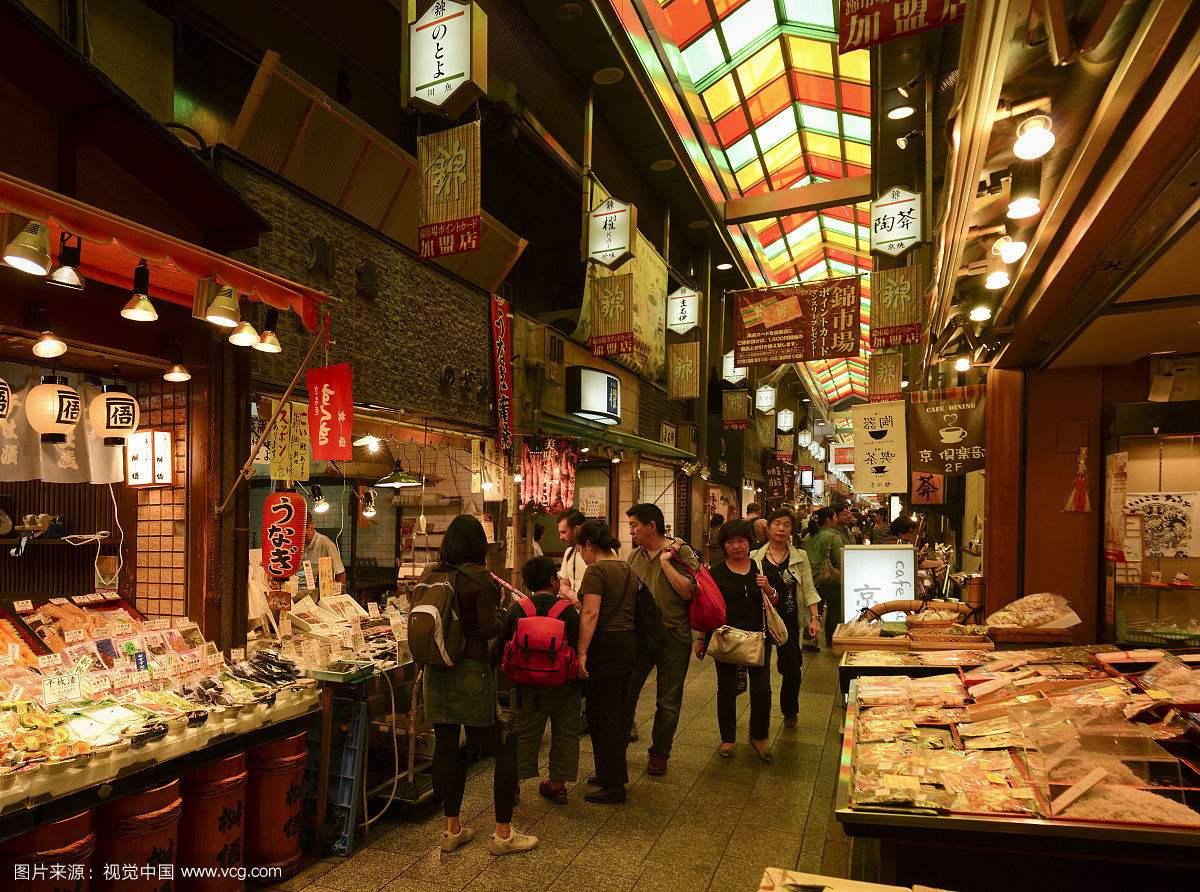 日本京都锦市场