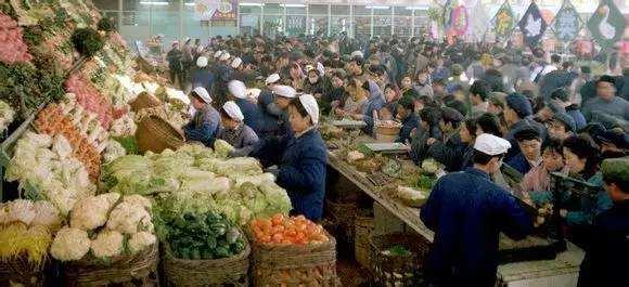 1979年的北京崇文门菜市场