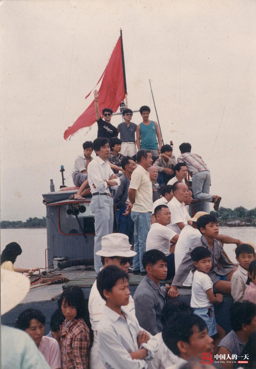 中国人的一天第3210期:广州南亭最后的摆渡人