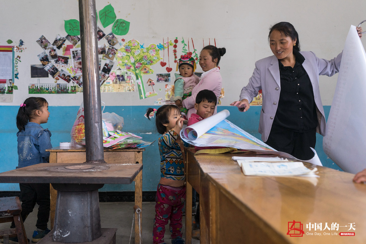 中国人的一天第3221期:她在村小代课21年工资400