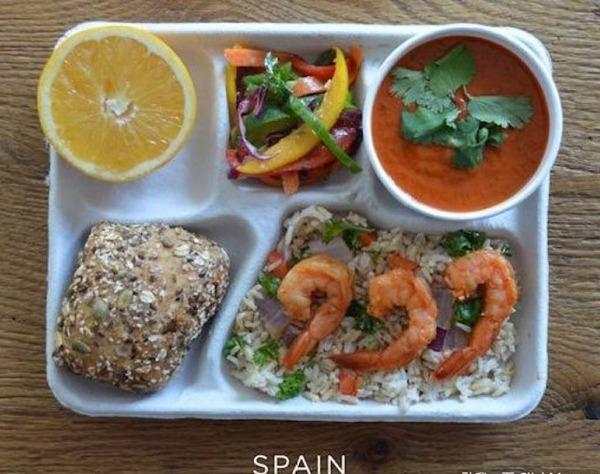 西班牙学生餐