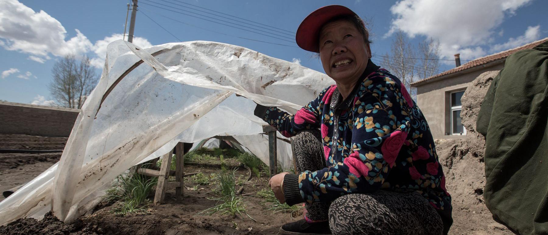 六口人蜗居土坯房 57岁农妇带智力障碍兄弟俩脱贫