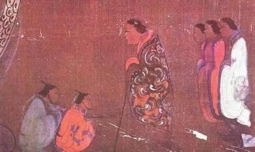 马王堆汉墓帛画局部
