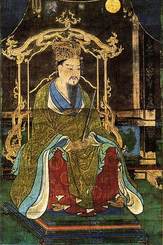 桓武天皇像(延歷寺藏)