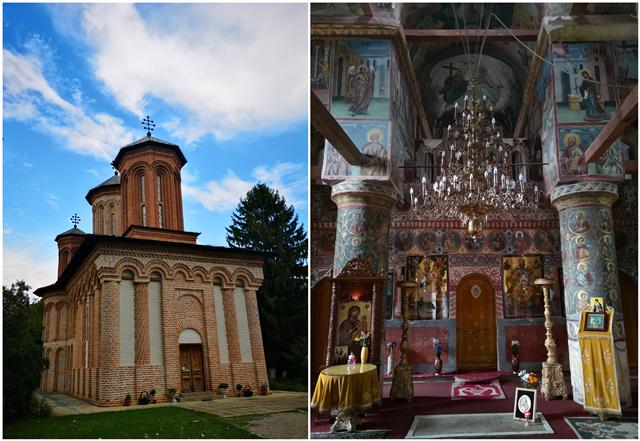 斯拉戈夫湖中修道院及內部