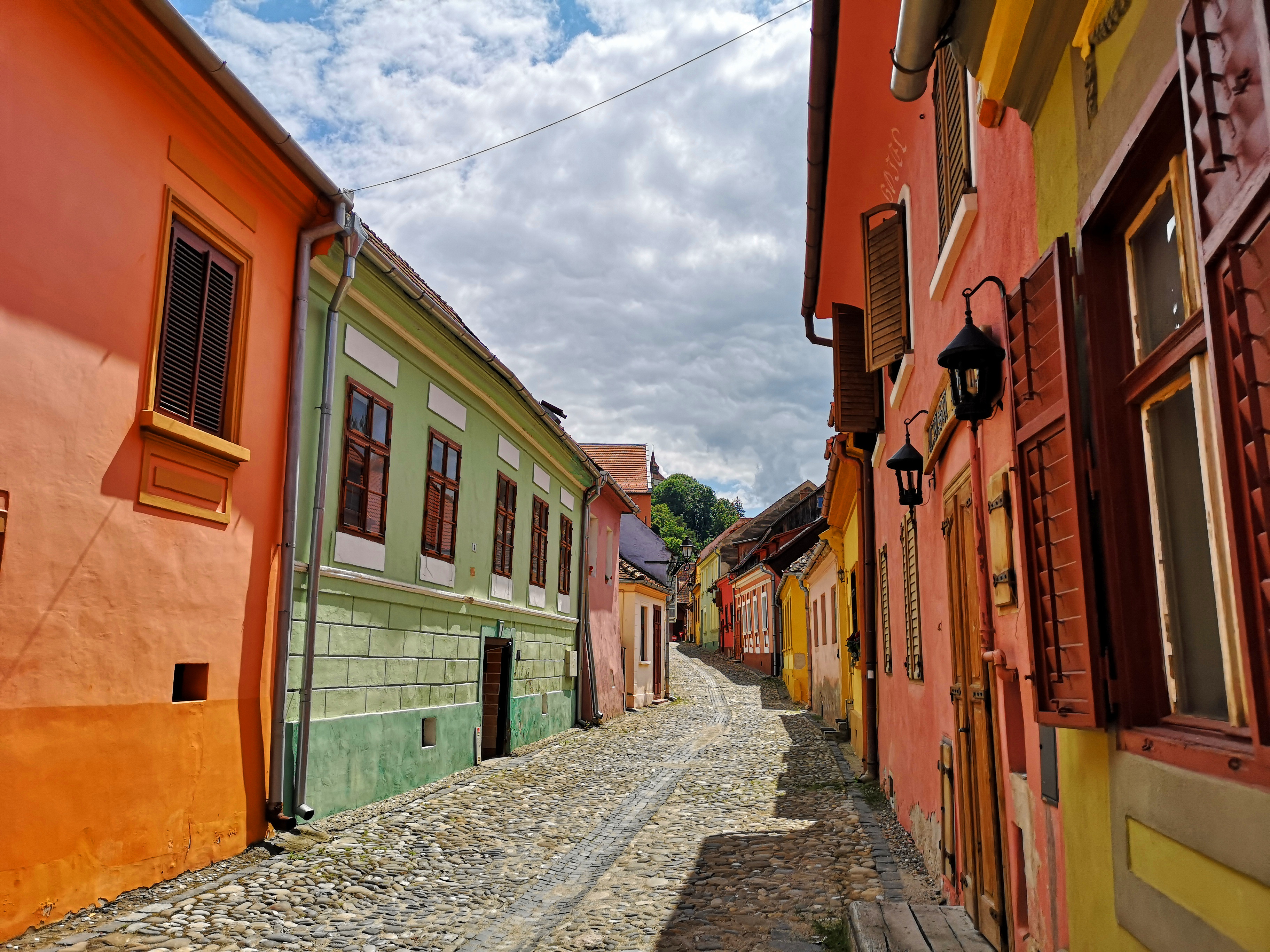 錫吉什瓦拉的街巷