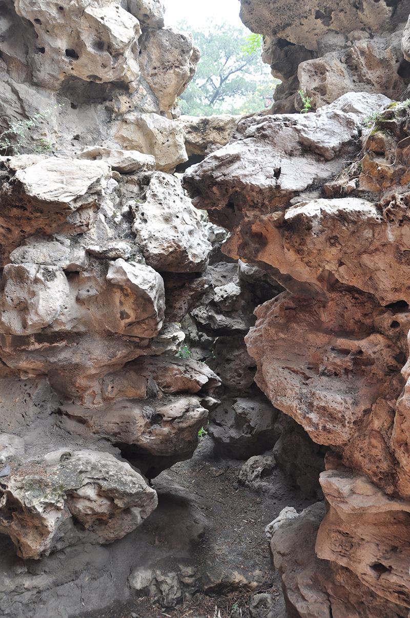 寧壽宮花園第三進院假山疊石